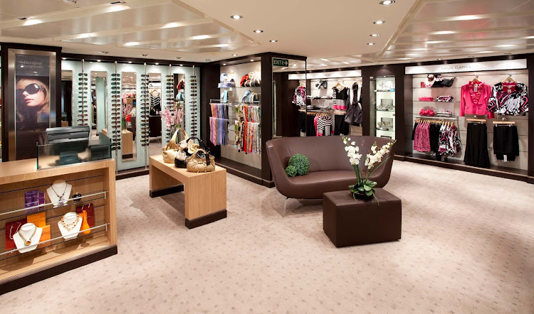 You'll find a wide range of fashions and accessories in Seabourn's The Boutique. Bring back a gift or shop for yourself.