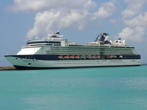Celebrity-Constellation-Barbados - Celebrity Constellation in Barbados.