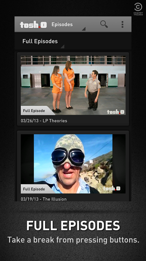 Tosh.0 - screenshot