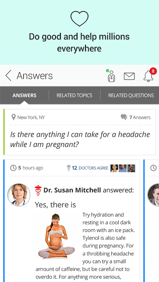 HealthTap for Providers- screenshot