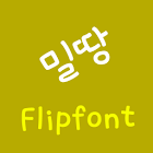 LogMilddang Korean Flipfont icon