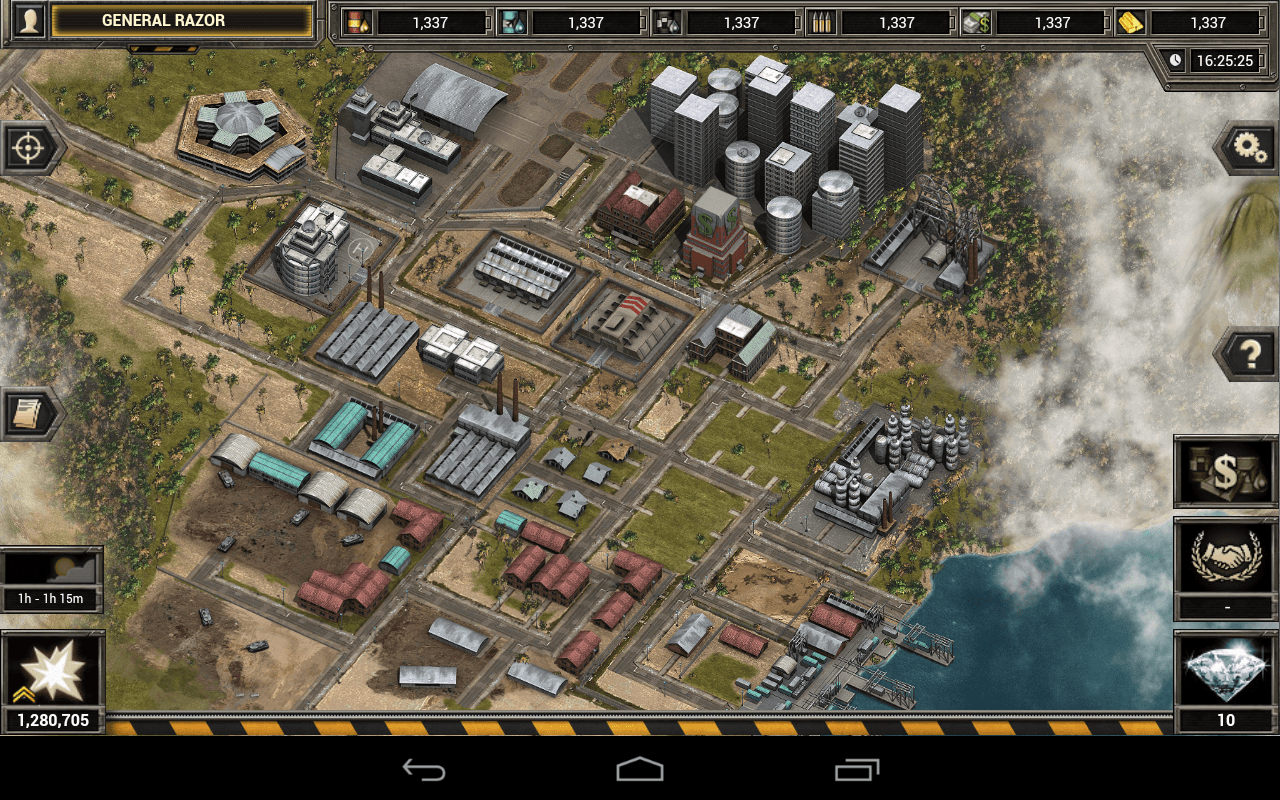 Desert Operations Tablet- screenshot