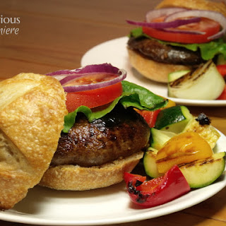 Balsamic Portobello Burgers