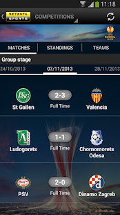 Setanta Sports Match Tracker - screenshot thumbnail