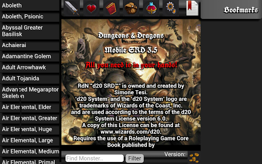 Dungeons Dragons D20 [DEMO]