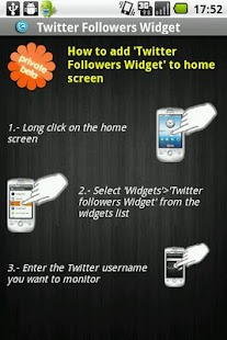 Followers Widget for Twitter - screenshot thumbnail