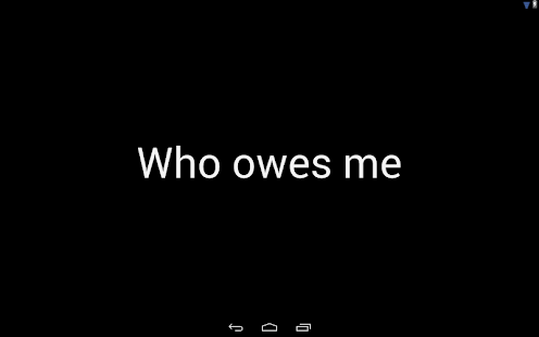 Who owes me?- screenshot thumbnail