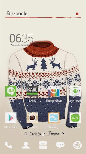 Snowflake pattern dodol theme
