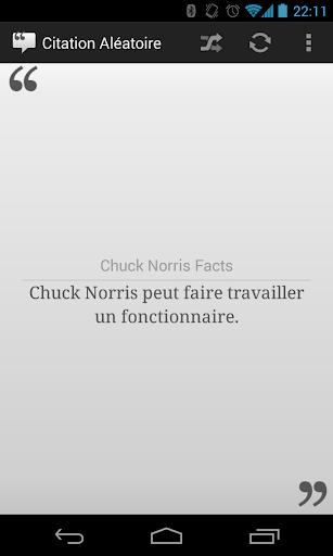Citation Aléatoire