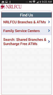NRLFCU Mobile Banking - screenshot thumbnail