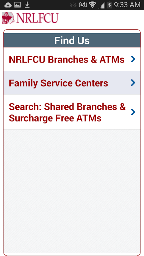 NRLFCU Mobile Banking - screenshot