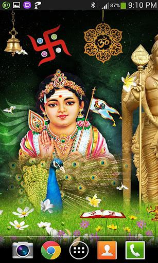 Swami Murugan Live Wallpaper