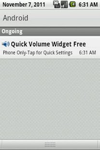 Quick Volume Widget Free - screenshot thumbnail
