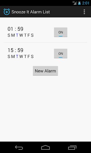 Snooze It Alarm Clock