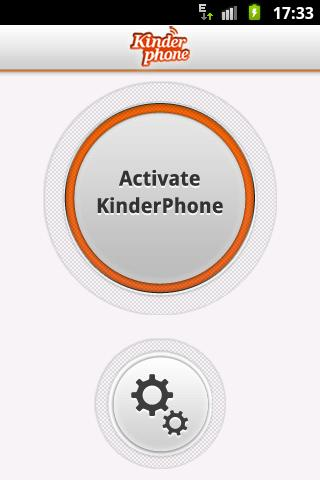Kinder Phone - screenshot