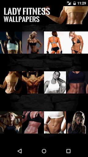Ladies Fitness Wallpaper