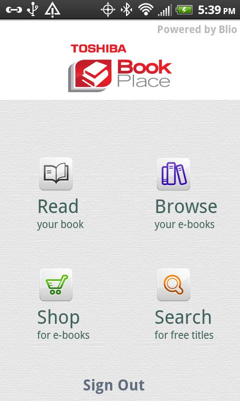 Book Place - screenshot