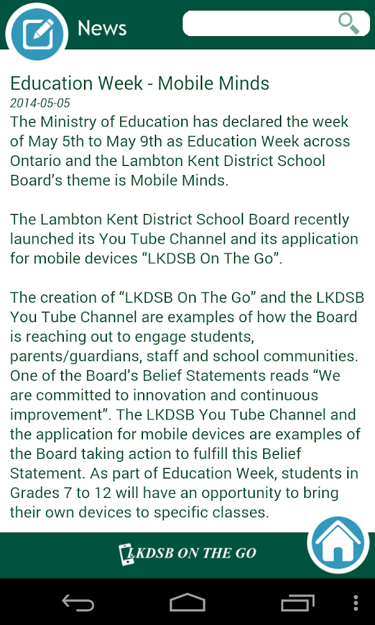 LKDSB On The Go- screenshot