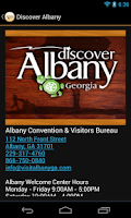 Screenshot of Discover Albany