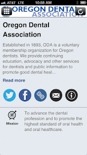 Oregon Dental Ass'n - screenshot thumbnail