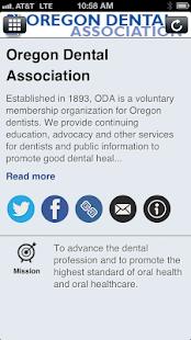Oregon Dental Ass'n - screenshot thumbnail