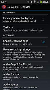 Galaxy Call Recorder - screenshot thumbnail