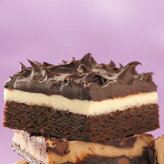 Double Frosted Brownies.