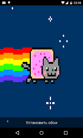 Nyan Cat Live Wallpaper 14 Screenshot 464150