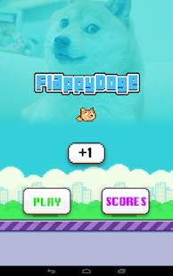 Flappy Doge- screenshot thumbnail