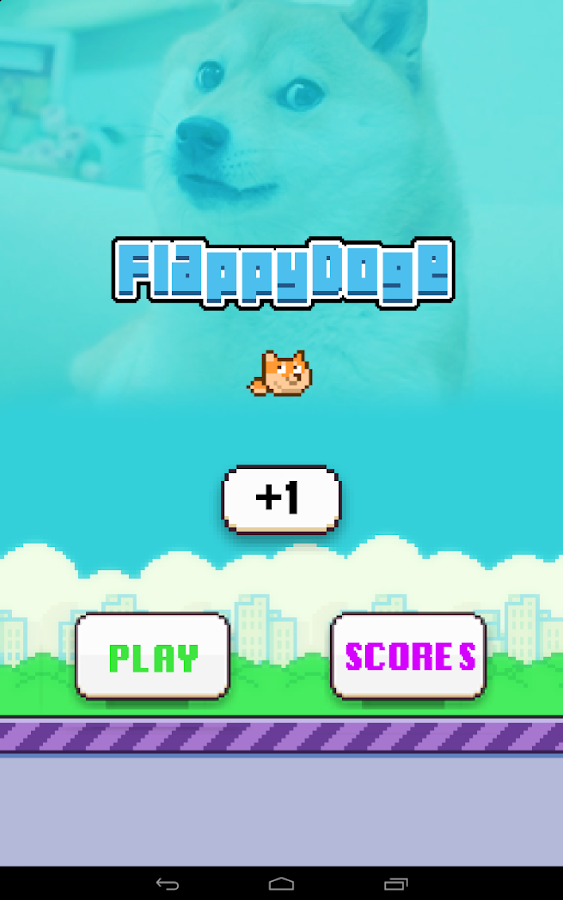 Flappy Doge - screenshot