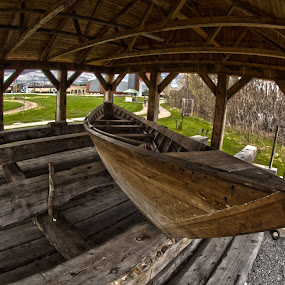 Pointer boat, Pembroke, Ontario, Canada by Faisal Abuhaimed - Transportation Boats ( color, colors, landscape, portrait, object, filter forge )
