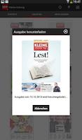 Screenshot of Kleine Zeitung +