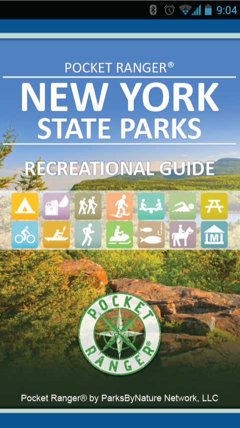 New York State Parks- screenshot