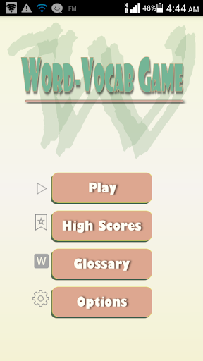 Word Vocab Game