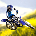 Motorcycle racing wallpaper icon