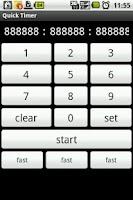 Screenshot of Quick Timer