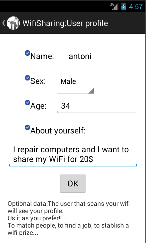 Wifi Share: Find job, people- screenshot