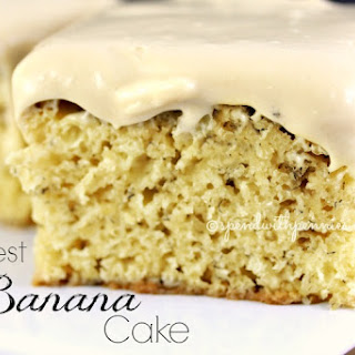The Best Banana Cake.