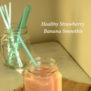 Healthy Strawberry Banana Smoothie