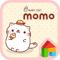 Baby cat MoMo Dodol Theme icon
