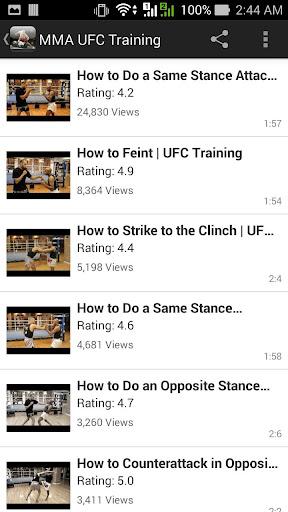 健康必備APP下載|MMA UFC Training hot 好玩app不花錢|綠色工廠好玩App