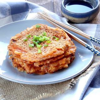 Vegan Kimchi Pancakes