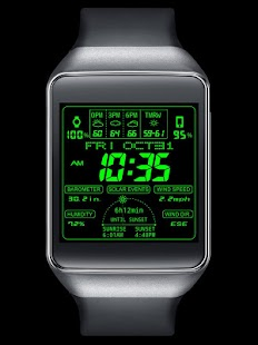 F03 WatchFace for Android Wear- screenshot thumbnail