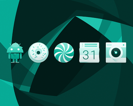 TEAL. Icon Pack