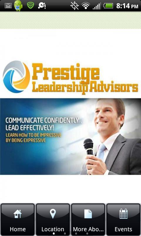 Prestige Leadership Advisors - screenshot