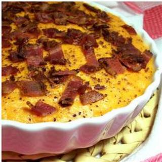 Sweet Potato Casserole with Bacon.