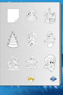 Christmas Coloring Book!- screenshot thumbnail
