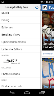 LA Daily News - screenshot thumbnail