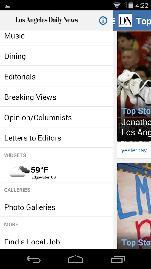 LA Daily News- screenshot