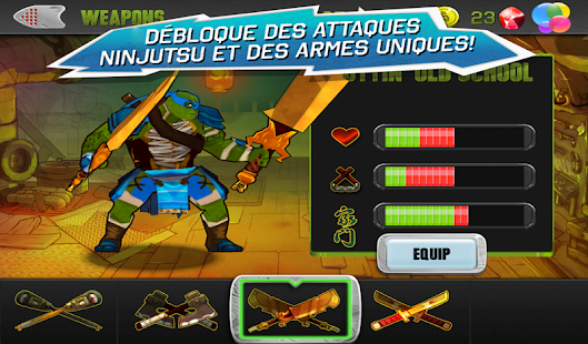 Ninja Turtles – Vignette de la capture d'écran
